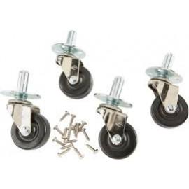 Ernie Ball Deluxe Amp Caster Set Pop-in Socket