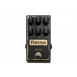 Friedman BE-OD Overdrive Pedal - Made In the USA