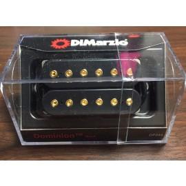 DiMarzio Dominion Neck Pickup DP244 (Black, Gold Bolts)