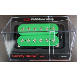 DiMarzio Gravity Storm Neck Pickup DP252 Green