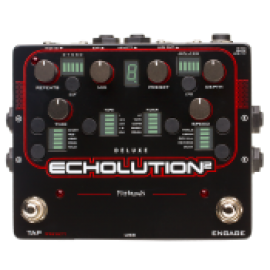 Pigtronix Ecolution 2 Deluxe Multi-Tap Modulation Delay Pedal