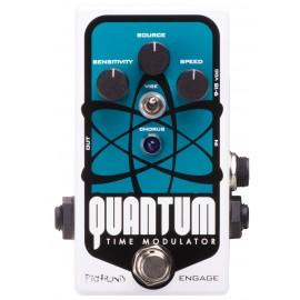 Pigtronix Quantum Time Modulator Multi-Dimensional Chorus Vibrato DynaFlanger Pedal
