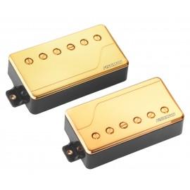 Fishman Fluence Classic Multi-Voice Humbucker Pickup Set (Gold)