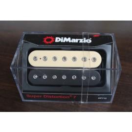 DiMarzio Super Distortion 7 Pickup DP712 Black/Creme