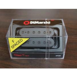 DiMarzio Titan 6 Neck Model DP258 Pickup Black with Black Bolts (F-Spaced)