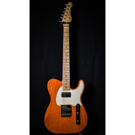 G&L USA ASAT Classic Bluesboy Clear Orange, Maple Fingerboard, Swamp Ash