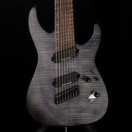 ESP LTD M-1008 Multi-Scale 8-String See-Thru Black Satin