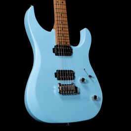 LSL Custom Shop XT4 Satin Sonic Blue with Roasted Maple Neck & Stainless Steel Frets