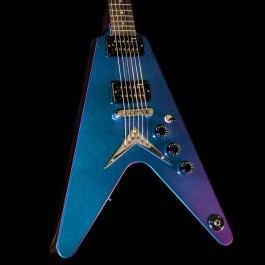 Dean USA Custom Shop V - Blue Purple Colorshift (One of a Kind)