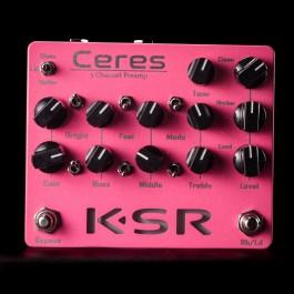 KSR Ceres 3-Channel Preamp Pedal - Pink