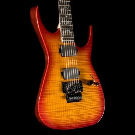 Dean USA RC6 Trans Amber Flame Top Custom Shop 6-String