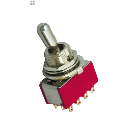 DiMarzio EP1111 Three Position On/On/On 4PDT Pickup Selector Switch