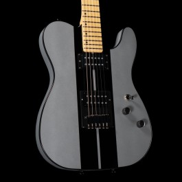 Schecter USA PT GT Special HH (Metallic Silver w/ Black Stripes)