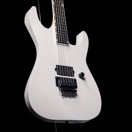 ESP USA M-I FR Deluxe - Pearl White, Bare Knuckle Black Hawk, Stainless Steel Frets