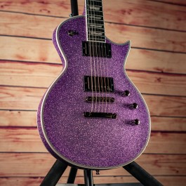 ESP E-II Eclipse DB Purple Sparkle w/ EMG 57/66 Pickups (Made In Japan)