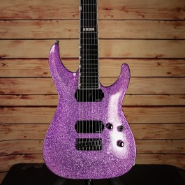 ESP Horizon NT-7B Purple Sparkle 7-String Baritone w/ Fishman Fluence Modern pickups