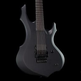 ESP LTD F Black Metal Black Satin with Ebony Fingerboard (Made in Korea)