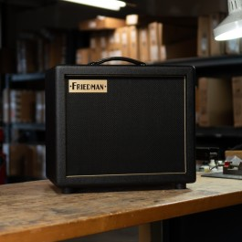 Friedman Pink Taco 1x12 ext Cabinet with Celestion Creamback 65w Speaker (Black)