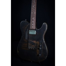 James Trussart Rust O Matic Steelcaster Perforated Metal with Pao Ferro Fingerboard