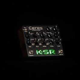 KSR Ceres 3-Channel Preamp Pedal - Black Sparkle