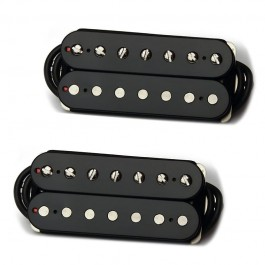 """Bare Knuckle """"Brute Force"""" 7 String Humbucker Pickup Set(Black, Open-Coil) - Boot Camp Series"""