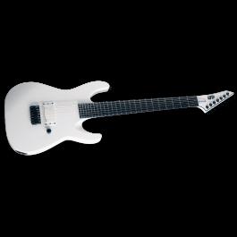 ESP LTD 2021 M-7B HT Arctic Metal 7-String - Snow White Satin