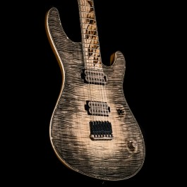 """Mayones Regius 7 """"Bird of Paradise"""" 5A Flame Top / Bare Knuckle Nailbomb/Cold Sweat Pickups (NAMM Exhibition Guitar)"""