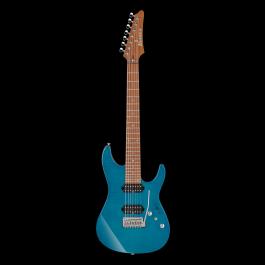 Ibanez Prestige MM7 Martin Miller Signature Model 7-String - Transparent Aqua Blue (PRE-ORDER)
