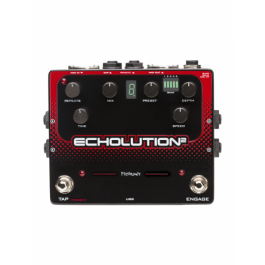 Pigtronix Ecolution 2 Multi-Tap Modulation Delay Pedal