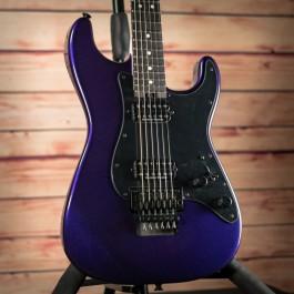 Charvel Pro Mod So-Cal Style 1, HH, FR, Ebony Fingerboard, Deep Purple Metallic