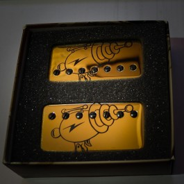 Bare Knuckle Rebel Yell 7-String Calibrated Set (Gold Raygun Covers)