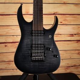 Ibanez J-Custom RG7527 7-String (Black Rutile Flat)