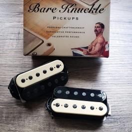 Bare Knuckle VHII 6-String Calibrated Set (Zebra with Black Screws)