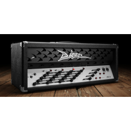 Diezel VH4 Tube Amplifier Head Black w/ MIDI