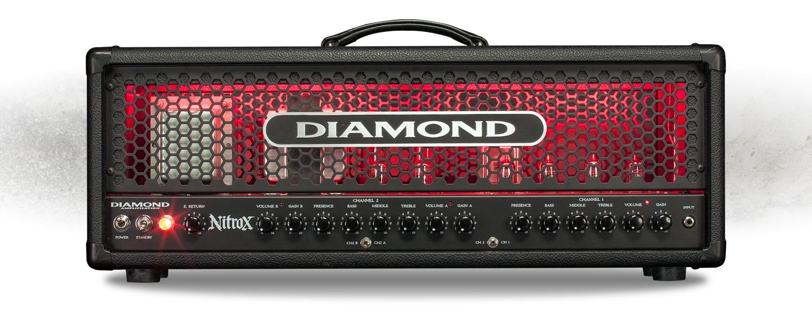 diamond nitrox 100w usa modern tube amplifier head the axe palace rh axepalace com