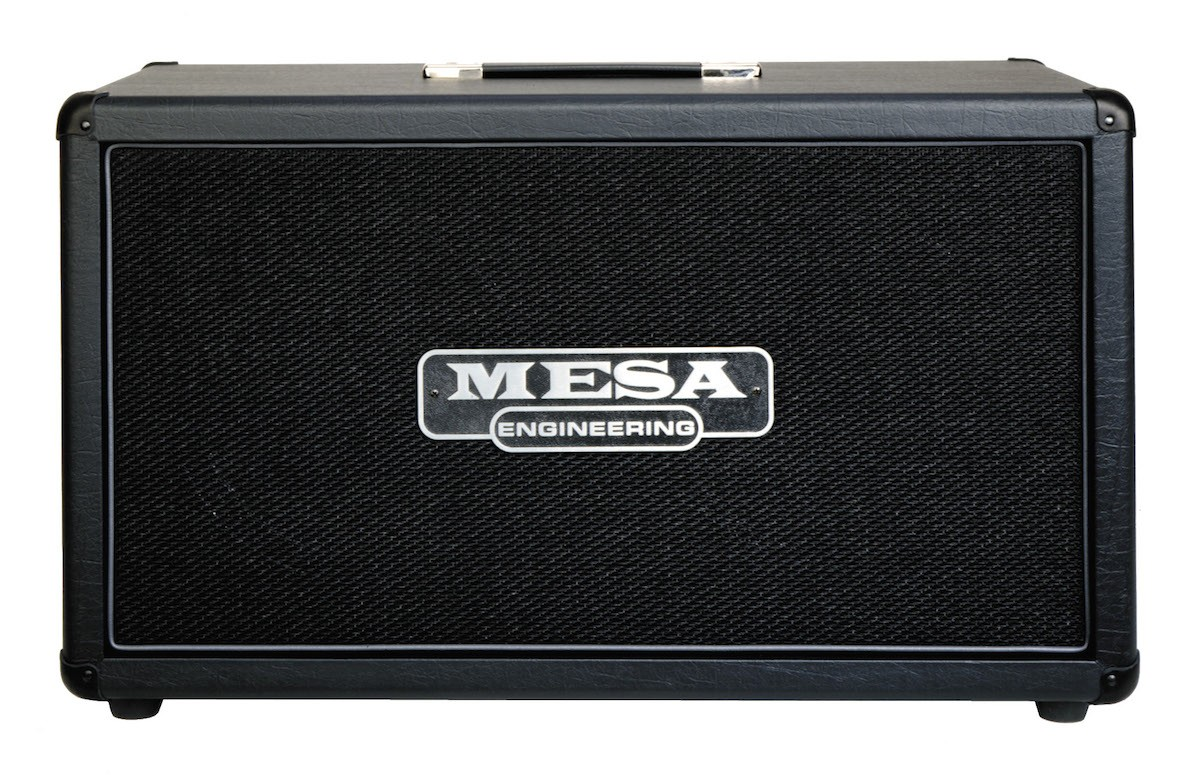 mesa boogie 2x12 rectifier horizontal guitar cabinet the axe palace. Black Bedroom Furniture Sets. Home Design Ideas