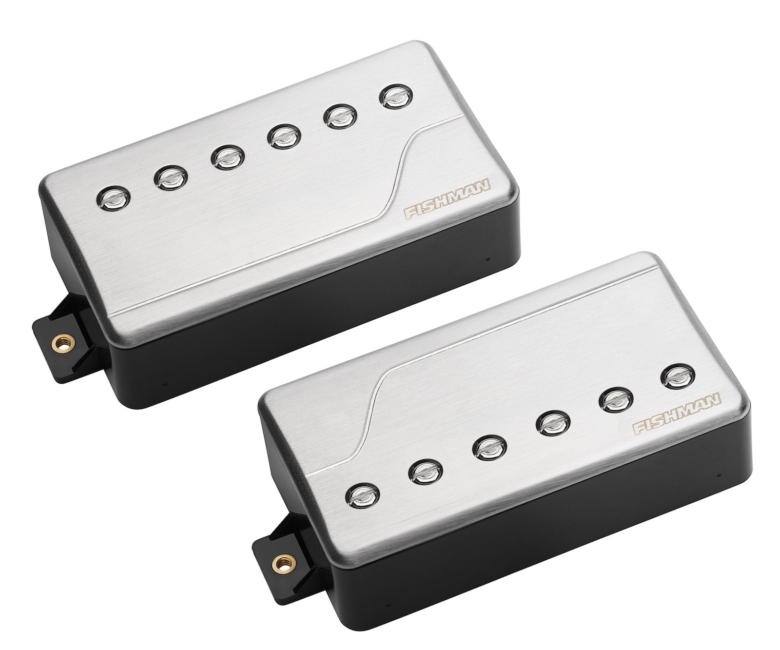 fishman fluence classic multi voice humbucker pickup set brushed stainless the axe palace. Black Bedroom Furniture Sets. Home Design Ideas
