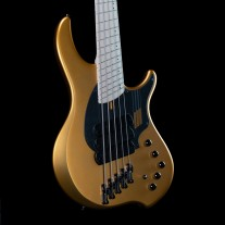 "Dingwall NG3 Combustion 5-String Adam ""Nolly"" Getgood Signature Bass w/ Soft Case (Matte Gold)"