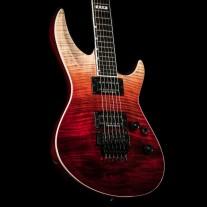 ESP E-II Horizon III FR Black Cherry Fade with Flame Top