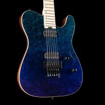 ESP USA TE-II FR Violet Shadow Fade Marble, Maple Fingerboard, Seymour Duncan Pegasus/Sentient Pickups