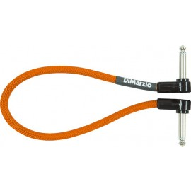 "DiMarzio 12"" Jumper Instrument Cable EP17J12 (Neon Orange)"