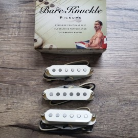 Bare Knuckle Mother's Milk Strat Replacement Set (Parchment White)
