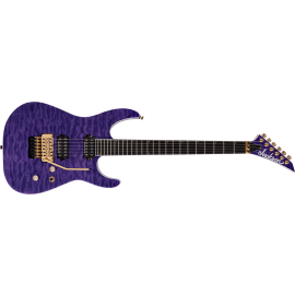Jackson Pro Series Soloist SL2Q MAH in Transparent Purple (PRE-ORDER)