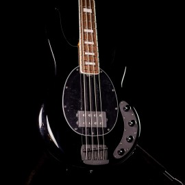 Ernie Ball Music Man BFR StingRay Specal 4H Limited Edition Bass (Black with Roasted Maple Neck, 1 of 81 Made)