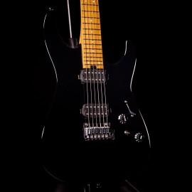 Charvel Pro-Mod DK24 HH 2PT Gloss Black w/ Carmelized Maple Fingerboard