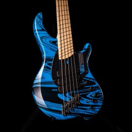 "Dingwall NG3 5-String Adam ""Nolly"" Getgood Signature Bass (Laguna Seca Blue Swirl)"