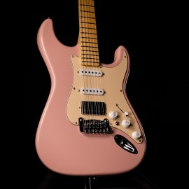 G&L USA Legacy HB Shell Pink, Maple Fingerboard, Locking Tuners, Vintage Tint Gloss Neck