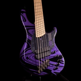 "Dingwall NG2 5-String Adam ""Nolly"" Getgood Signature Bass (Purple Metallic Swirl)"
