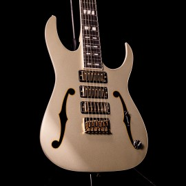Ibanez PGM333 Limited Edition 30th Anniversary Paul Gilbert Signature - Champagne Gold