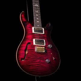 PRS Wood Library Custom 24 Semi-Hollow (Angry Larry, Hybrid Hardware, Artist Grade Flame Top)